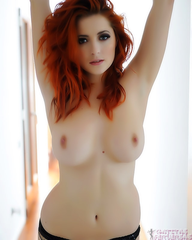 Fotos digitales pelirroja desnuda