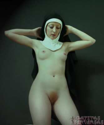 Nude-Nun-topless-catholic-habit-sex