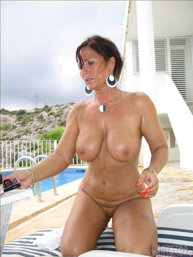 Beautiful tanned latin milf anita gets a serious assfucking 6