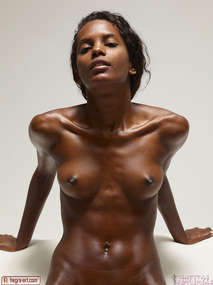 Can skinny black girl nude
