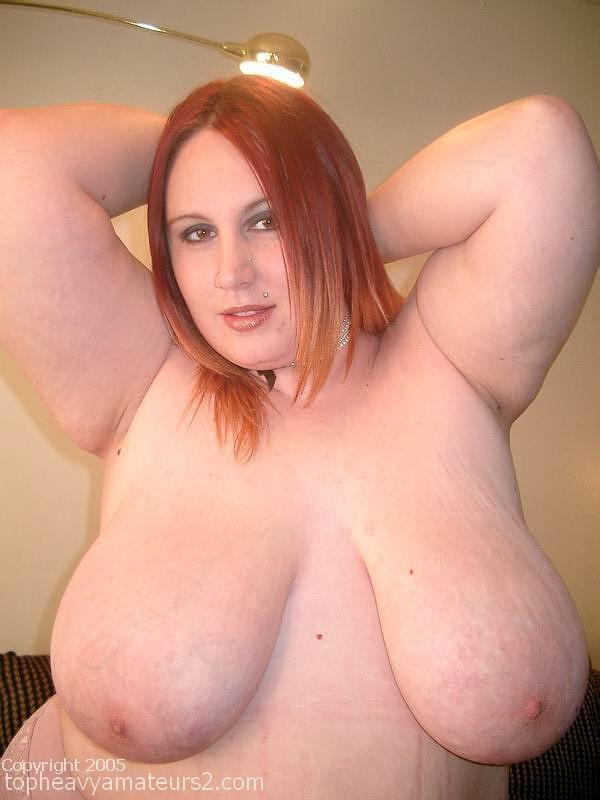 Bbw white boobs
