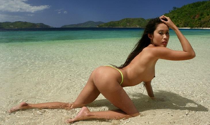 Flo from progressive topless