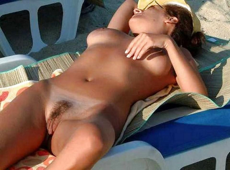 sexy girl in bikini in a bad in sex